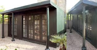 Shed Style Houses by The Shed Builder Bespoke Sheds Outhouses Garden Rooms