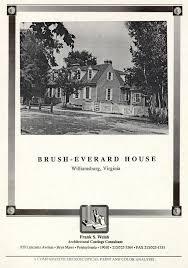 brush everard house architectural report block 29 building 10