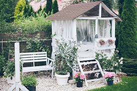 glamorous garden shed makeover shabby chic she shed decorating