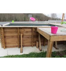 petite piscine enterree piscine hors sol maeva 300 en bois carrée finition haute qualité