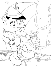 pinocchio coloring handipoints