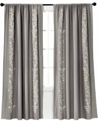Light Block Curtains Sale Threshold Embroidered Vine Light Blocking Curtain