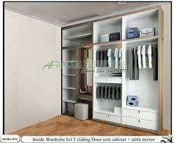 lemari minimalis rias unit cabinet ivi allia furniture