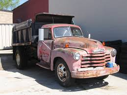 Classic Chevy Dump Trucks - 1952 chevrolet advance design dump truck over the years i u2026 flickr