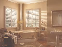 Bathroom Window Decorating Ideas Bathroom Amazing Plantation Shutters For Bathroom Window