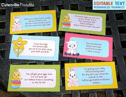 Easter Egg Hunt Ideas Printable Easter Egg Hunt Decorations Garden Kit Pdf With Editable