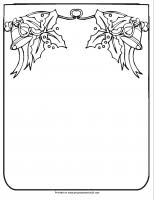 Paper Christmas Lights Christmas Lights Printablecoloring Page Worksheet Or Pattern A