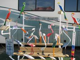 Pvc Patio Furniture Florida - pvc seabirds made from 1 piece of pvc pipe wing it one for the