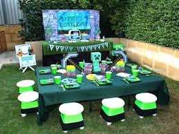 minecraft birthday supplies charming minecraft birthday party decoration minecraft birthday