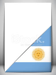 Country Flag Images Argentina Country Flag Turning Page Stock Vector Freeimages Com