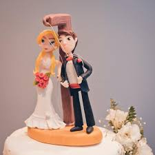 wedding cake joke wedding cake and groom toppers stock image image 108414993