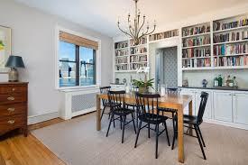 dining room brooklyn duplex in historic brooklyn heights co op built for manhattan