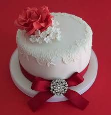 wedding cake anniversary 30 best ruby anniversary cake ideas images on