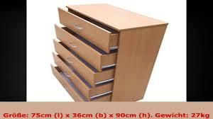 Schlafzimmer Kommode Buche Kommode Buche Massiv Sideboard Cm Holzt Ren Schubladen Rotkernbuche