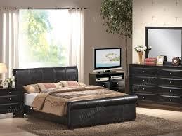 bedroom chic king platform bedroom sets black esf nelly