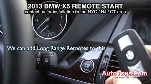 auto stop start bmw bmw x5 2013 f15 remote start from factory transmitters by autotoys