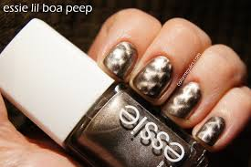essie lil boa peep www colormejules com nails and makeup