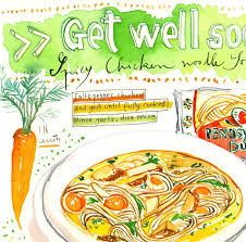 get well soon soup get well soon spicy chicken noodle soup recipe print lucileskitchen