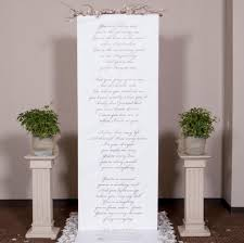 wedding backdrop altar handwritten style wedding ceremony backdrop for your altar with