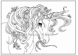 coloring pages of unicorns and fairies cool adult coloring page digital unicorn flowers free coloring