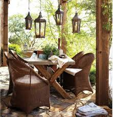 furnitures old rustic patio and outdoor furniture ideas showing