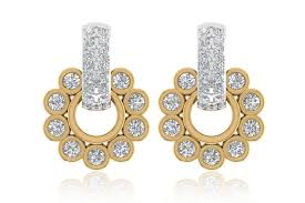 diamond earrings online buy aarchi diamond earrings online in india at best price jewelslane