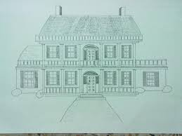 beginning the journey of drawing my dream house with ink pen
