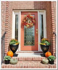 Front Door Decoration Ideas 50 Fall Front Door Décor Ideas Family Holiday Net Guide To