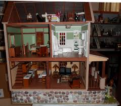 craftsman house interior dollhouse interiors pinterest house