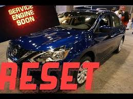 service engine soon light nissan sentra how to reset service engine soon light on a 2018 nissan sentra
