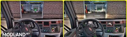 peterbilt 389 interior lights peterbilt interior lighting mod v 1 1 mod for american truck