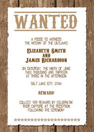 western wedding invitations wanted western wedding invitation free template printableinvitati