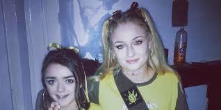 Brownie Halloween Costume Game Thrones U0027 Maisie Williams Sophie Turner Hash