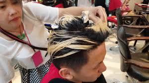 gambar tutorial ombre rambut tutorial cara mewarnai rambut cowok youtube