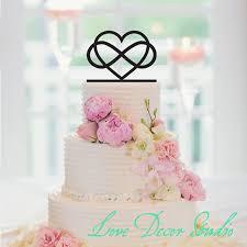 infinity cake topper 6 infinity cake topper infinity heart wedding cake topper