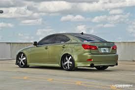 lexus green vossen vvs084 wheels on green lexus is wheels