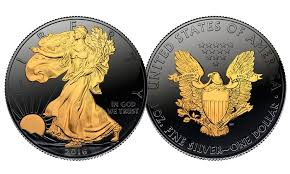 Black Ruthenium  American Silver Eagle US Coin Groupon - Silver eagle furniture