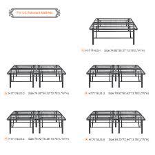 bed frames wallpaper hi def heavy duty platform bed frame king