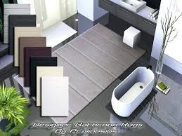 Designer Bathroom Rugs Outstanding Bathroom Rug Ideas Vibrant Ideas Modern Bathroom Rugs