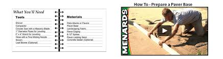 Patio Paver Calculator Tool Patio Block Buying Guide At Menards