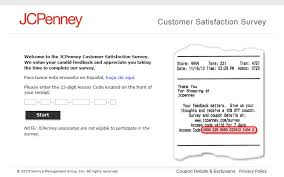www jcpenney com survey jcpenney customer satisfaction survey