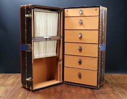 beautiful travel trunks wardrobes beautiful wardrobe trunk from the 20 antique steamer