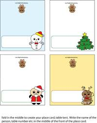 printable place cards place cards christmas place cards free printable ideas from