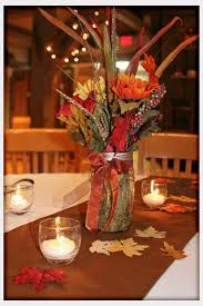 fall table arrangements autumn wedding decorations decorations fall wedding table