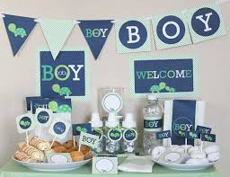 blue baby shower decorations creative ideas blue and green baby shower decorations 7865 wedding