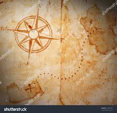 Blank Pirate Treasure Map by Old Treasure Map Stock Illustration 130537001 Shutterstock