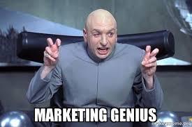 Meme Marketing - marketing genius make a meme
