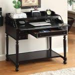 black writing desk with drawers painted good choice black