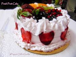 fresh fruit cake recipe birthday cake idea pepper chilli