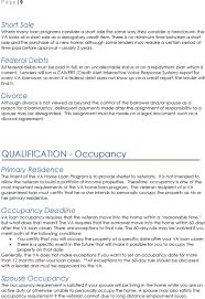 Certification Letter For Occupancy What Every Veteran Should Know About The Va Mortgage Pdf